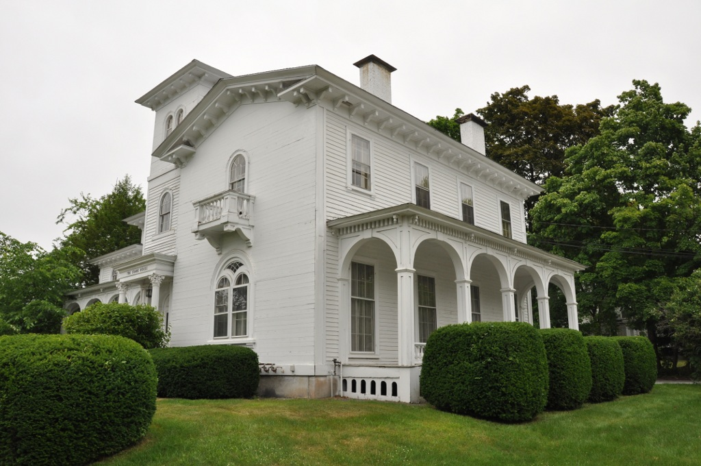 The General George Stark House is a great example of Italianate architecture and is listed on the National Register of Historic Places.