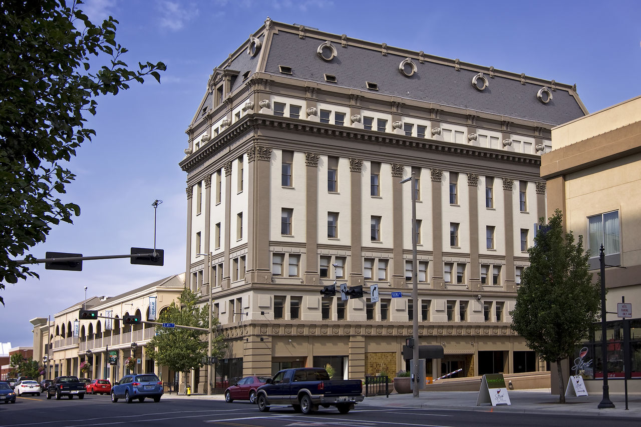Now the Hotel Maison, the former Masonic Temple building was built in 1911. It is a fine example of Second Empire architecture.