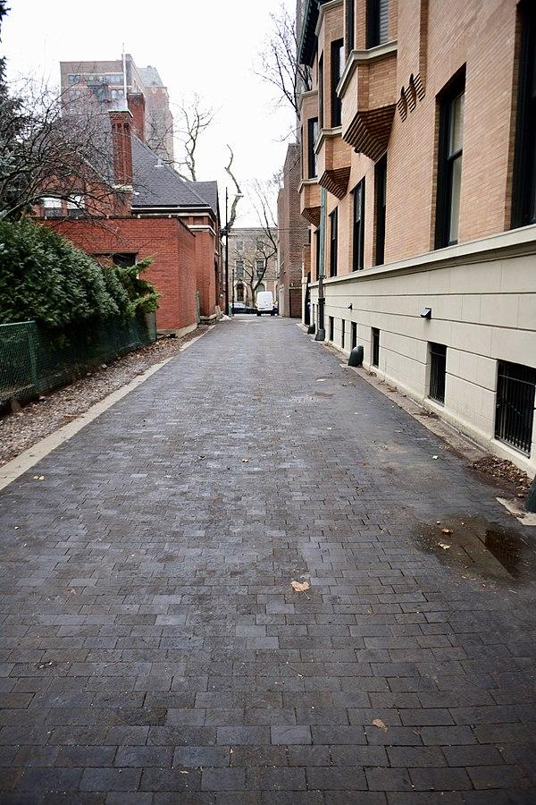 Chicago's Wooden Alley - restored 2011.