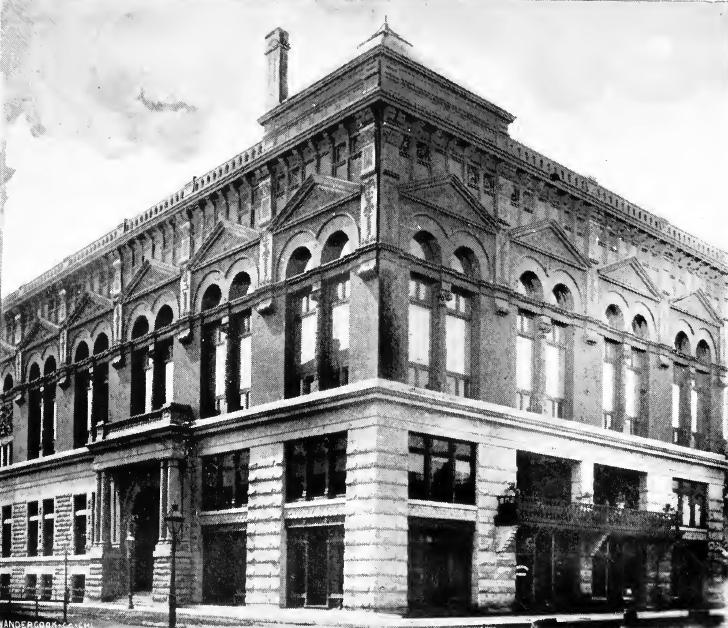 Germania Mænnerchor Building, 1891
