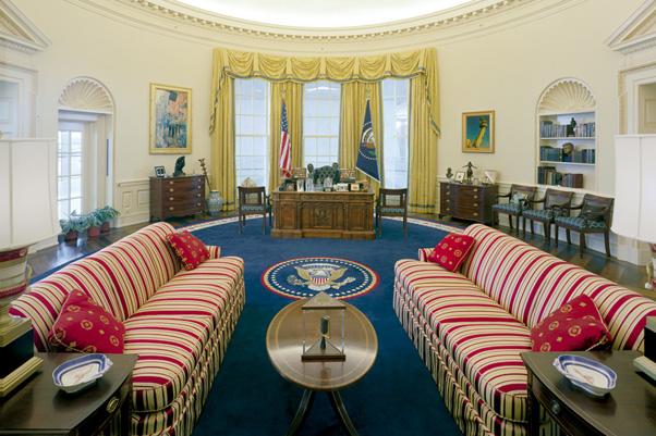 The museum offers the only replica of the Oval Office, allowing guests to get a feel for the White House they can't get on the White House tour