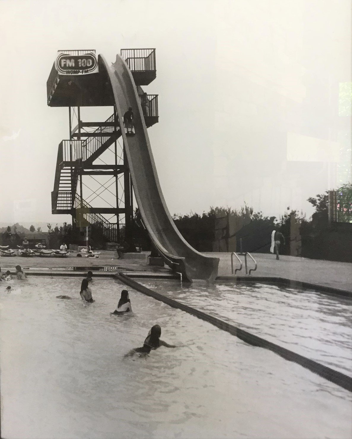 The water slide of the 1980s. (Photo courtesy of Grand Vue Park)