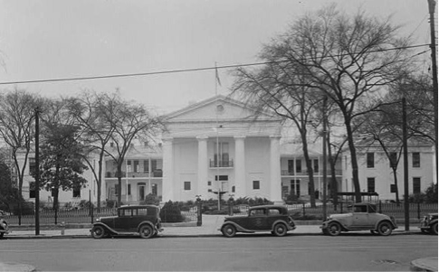 Early photo of the State House, circa 1930s-40s