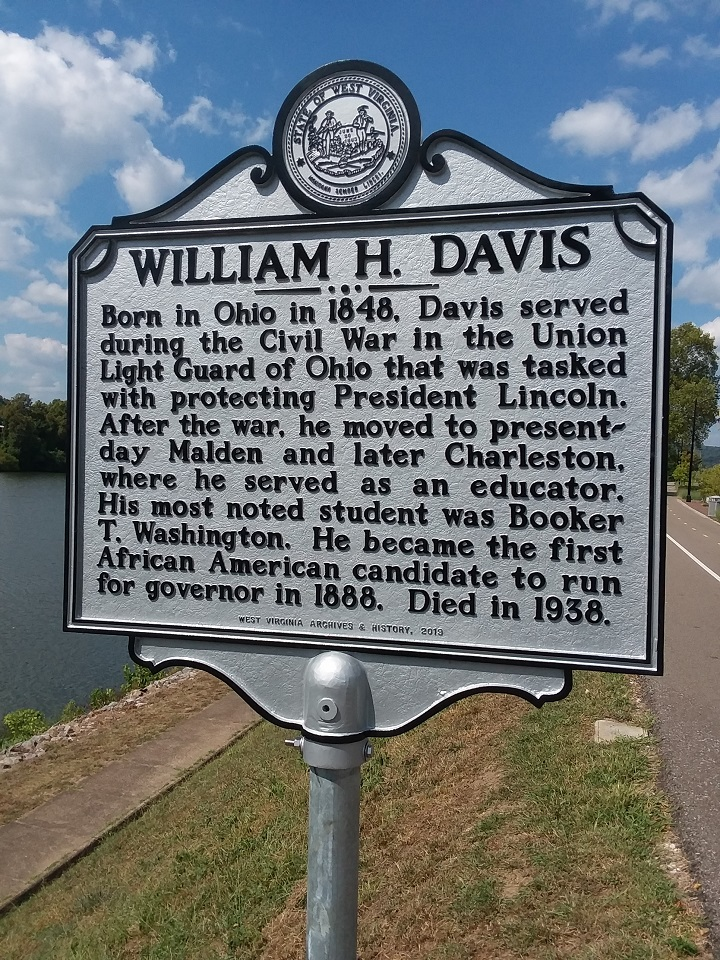 William H. Davis Highway Historical Marker