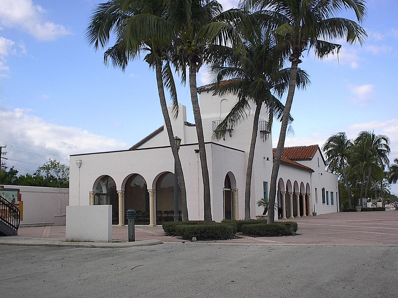 The Florida East Railway Depot was built in 1930 and today is the Boca Express Train Museum.