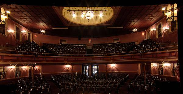 Inside the Twin City Opera House.