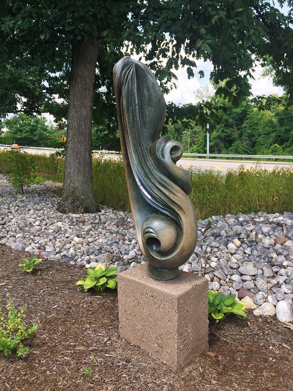 """Laxon Karisi's """"Spirit Bird."""""""