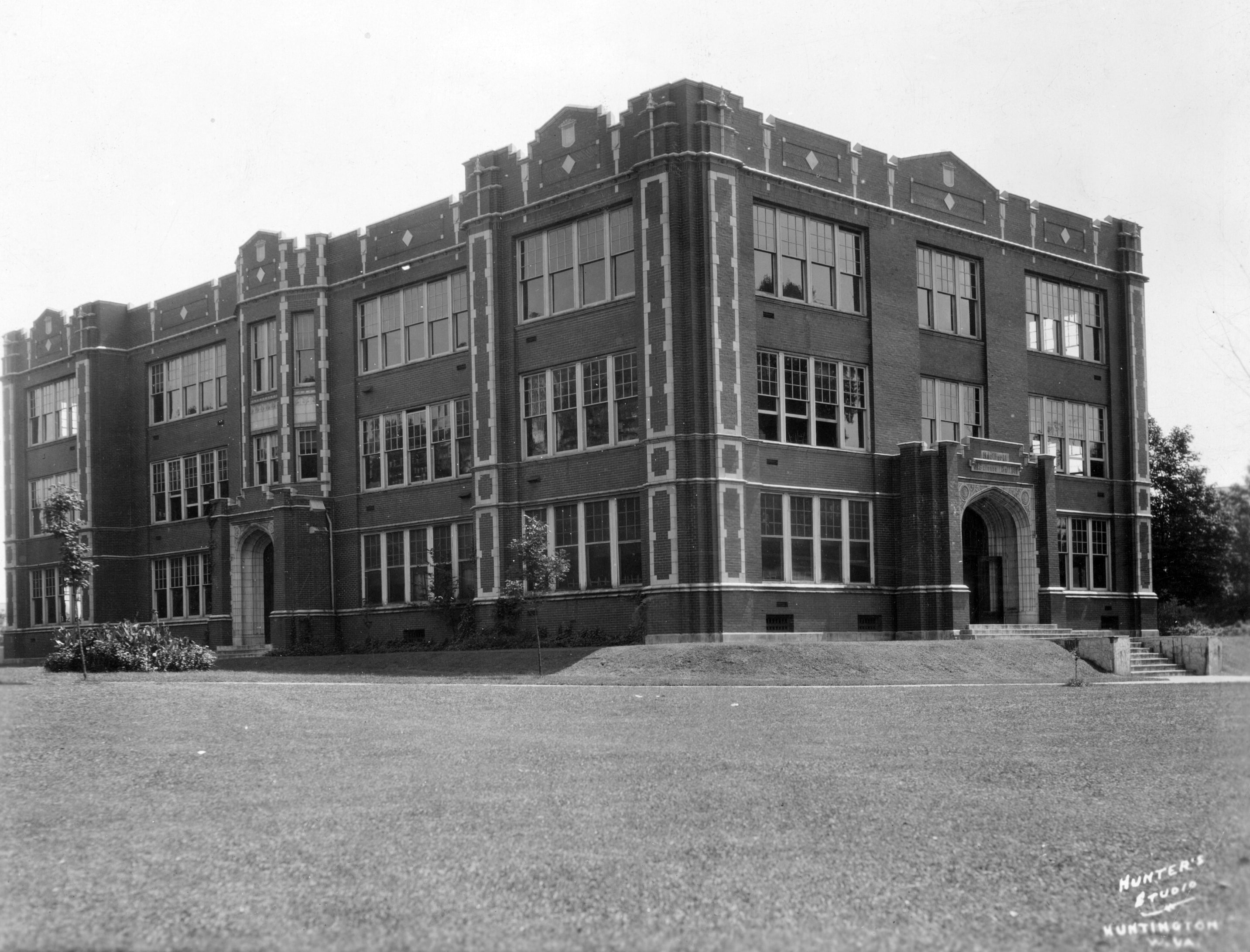 Northcott Hall was constructed in 1915 to house science classrooms and was the first building on campus separate from Old Main.
