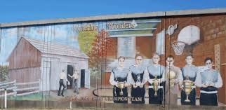 Waterloo Wonders Mural located in Ironton, OH