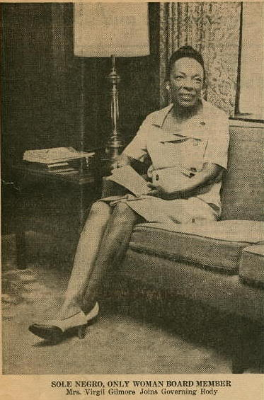 Elizabeth Harden Gilmore was the secretary of the Charleston chapter of CORE and the leading organizer of the protests against the Diamond Department store