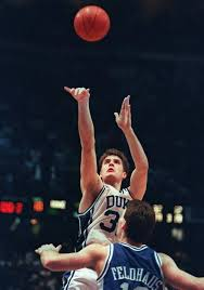 Christian Laettner is arguably one of the best college basketball players of all time. He led Duke to back to back championships in 1991 and 1992.