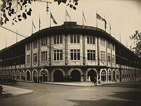Walking into Forbes Field, one might see this when they are going to spend the afternoon watching a Summer ballgame. People came out to see the would be future hall of famers such as Honus Wagner, Bill Mazeroski, and Roberto Clemente.