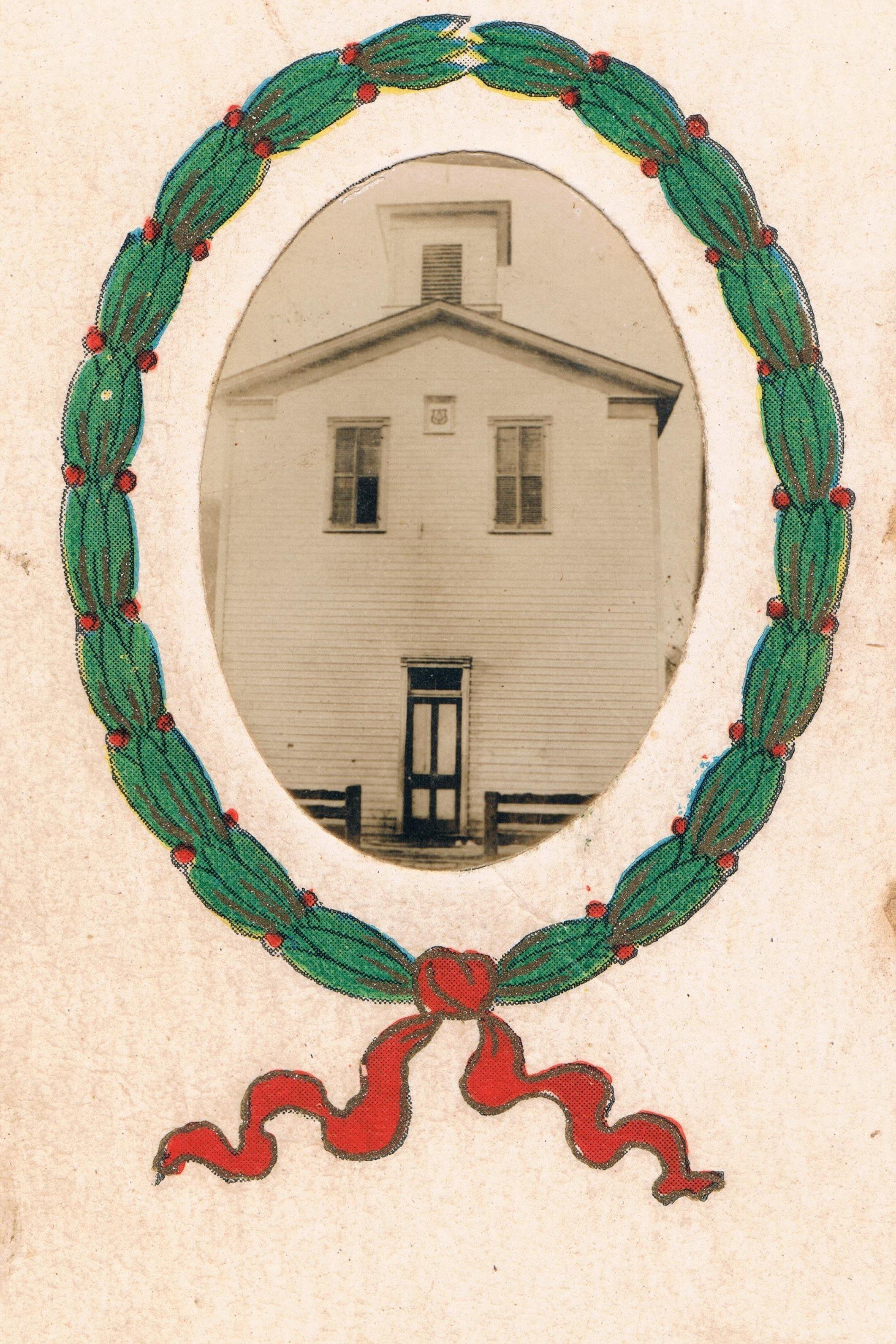 Lodge Hall from a 1909 School Keepsake