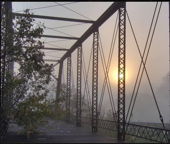 Kile Bridge at Next. Photo by Karen Smith Kile.