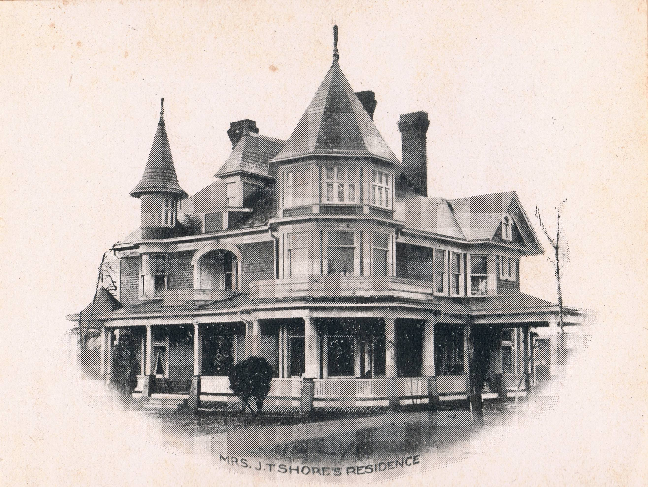 Powell-Shore House in Middlebourne