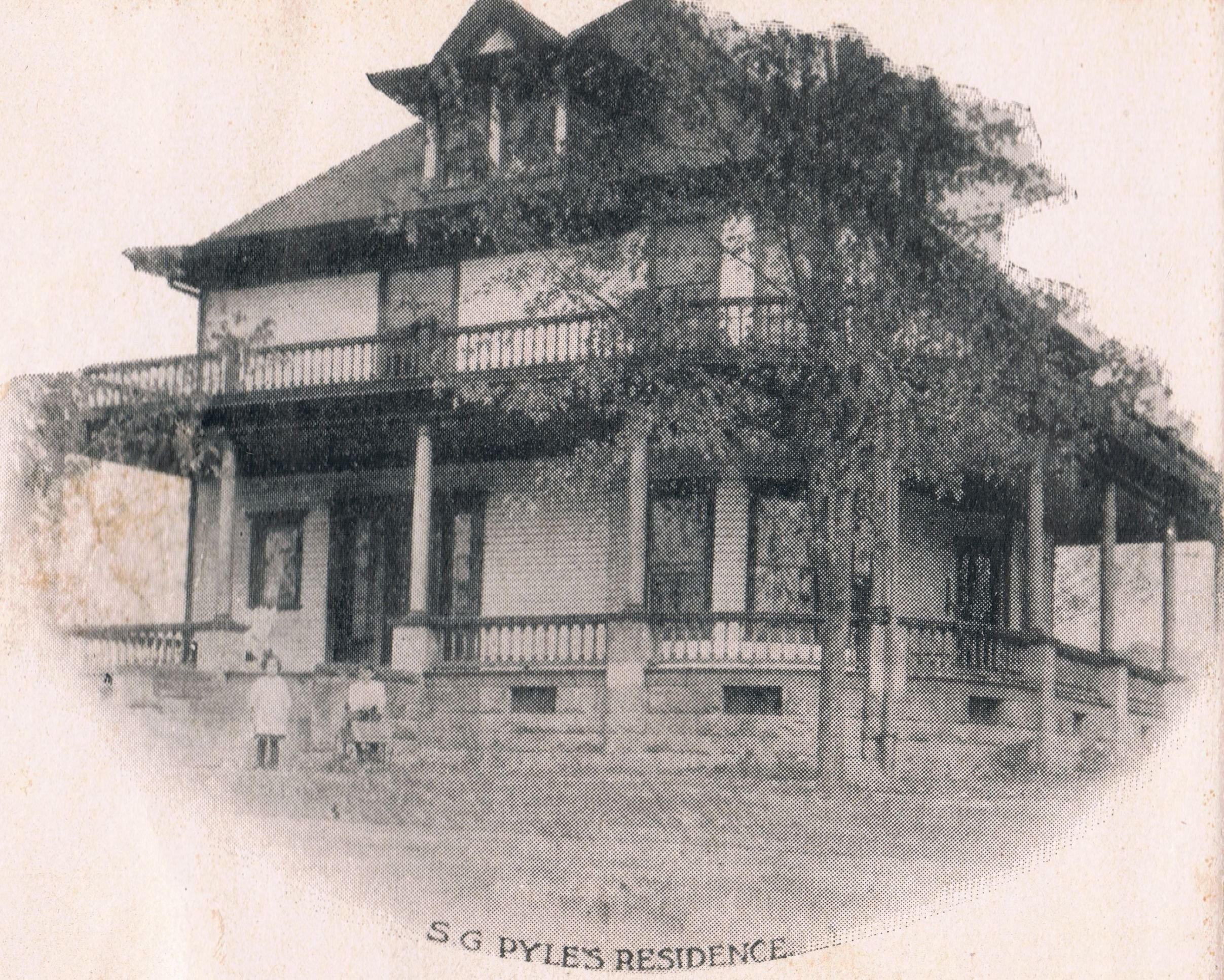 S.G. Pyle house in its heyday