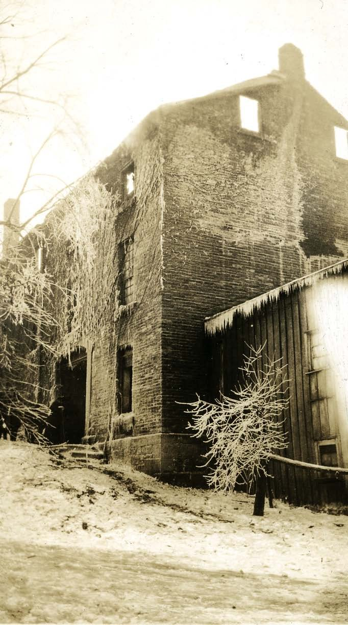 Saint Vincent brewery after the fire