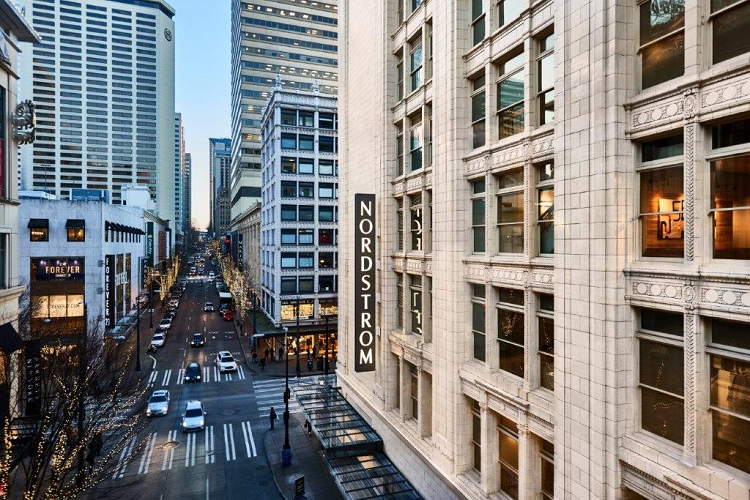 Nordstrom's Seattle Flagship Store