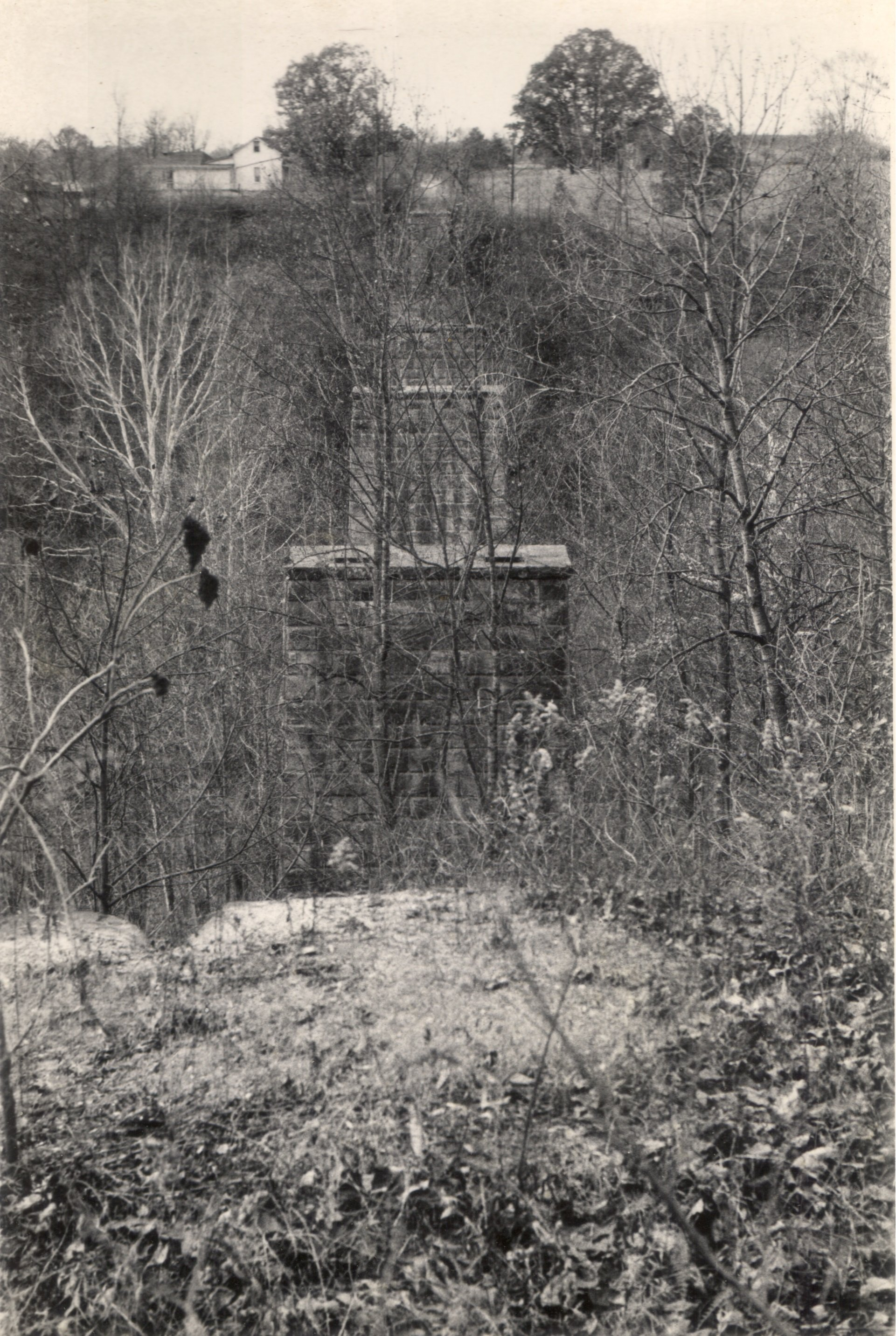 Dunbar Piers circa 1950. Courtesy of the Southeast Ohio History Center