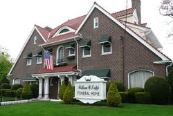 The Potter-Lumb mansion has been home to the William W. Tripp Funeral Home for over sixty years.