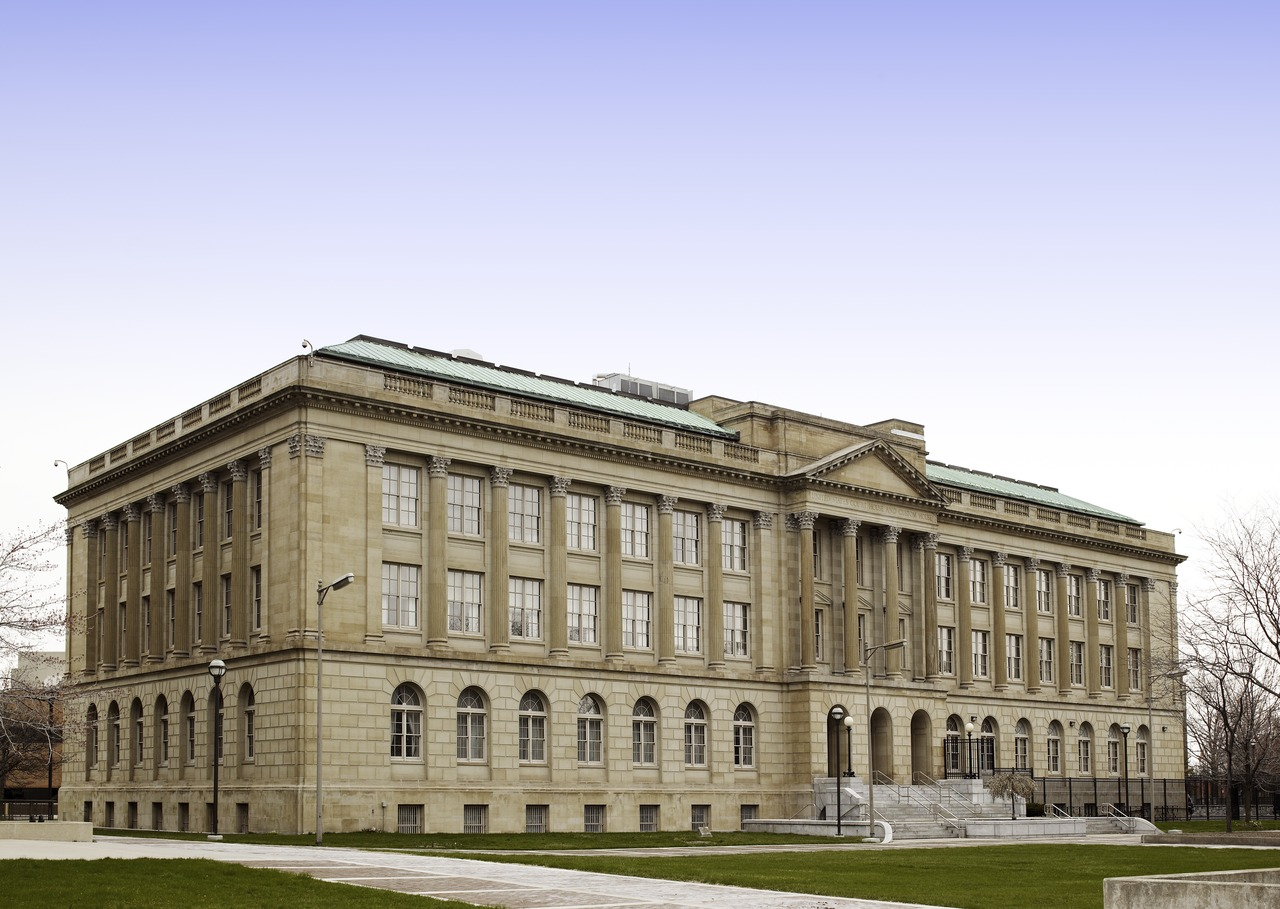The James M. Ashley & Thomas W. L. Ashley U.S. Courthouse was built in 1932.