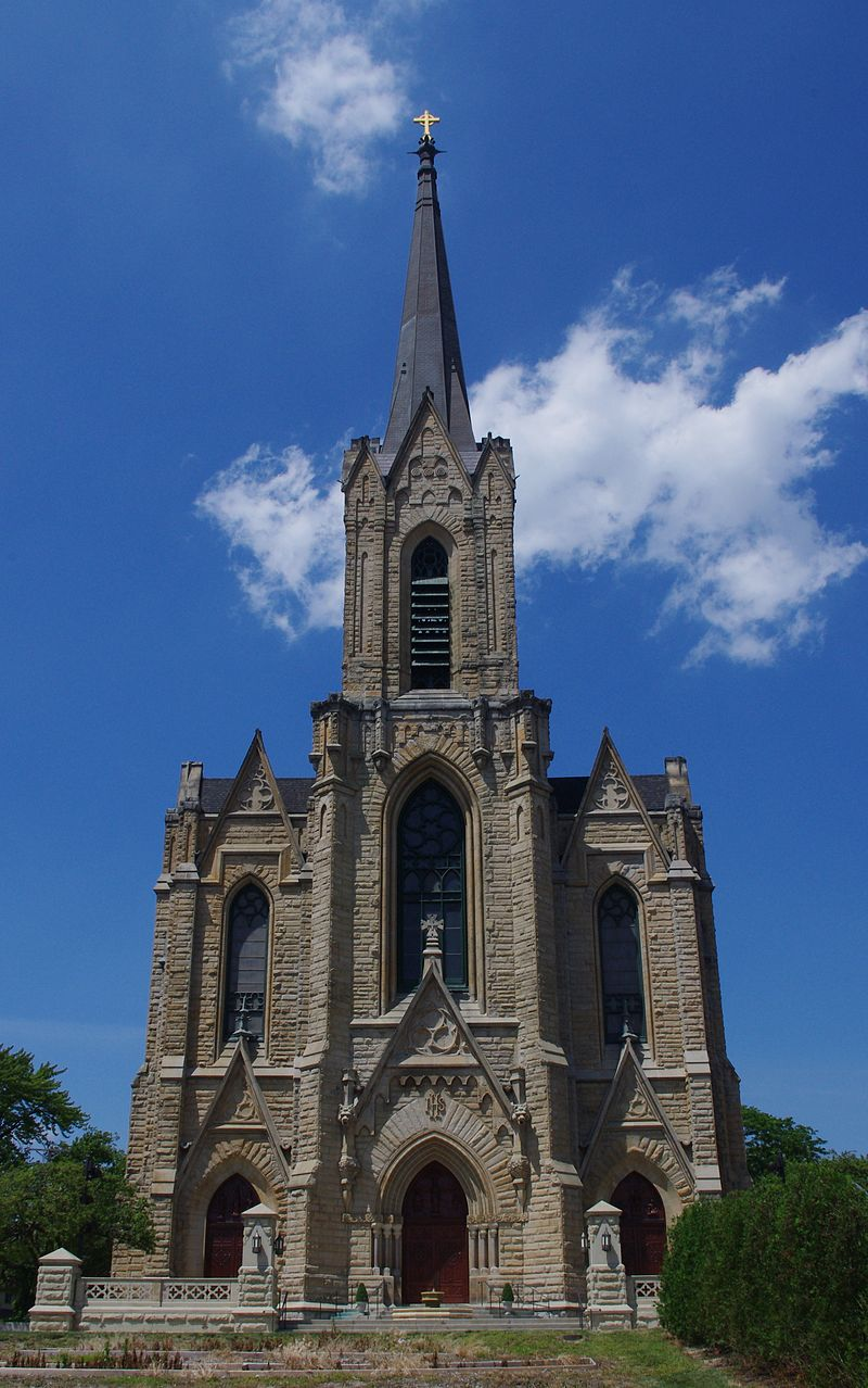 St. Patrick's Catholic Church was built in 1901.