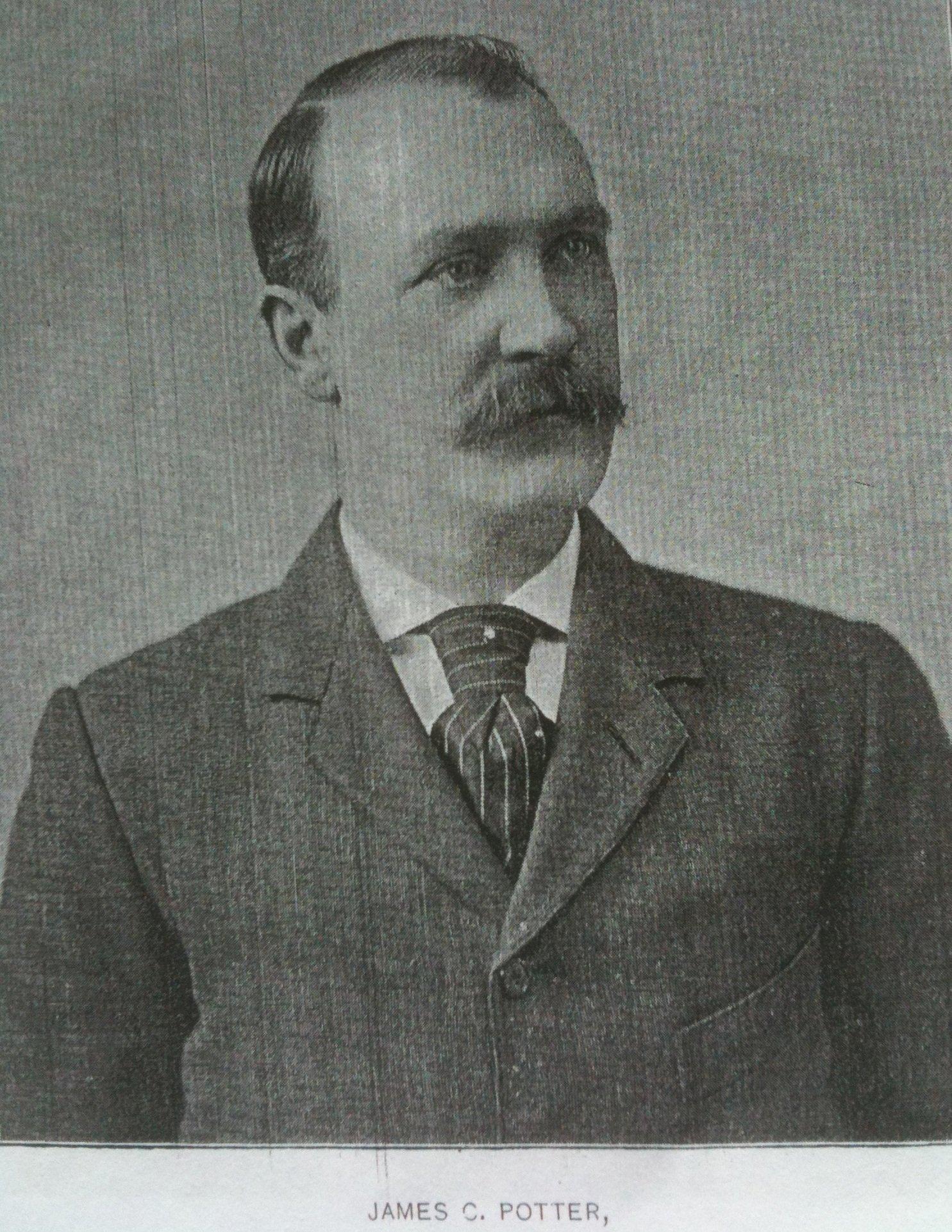 Pawtucket's original Mr. P., James C. Potter.
