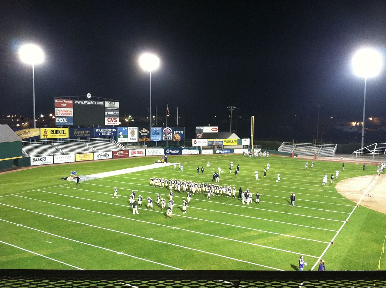 McCoy has also been known to host some high school football games.