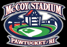 The stadium logo.