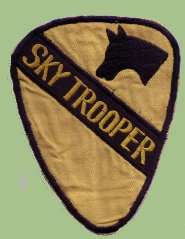 US Army 1st Cavalry Patch - Sky Trooper