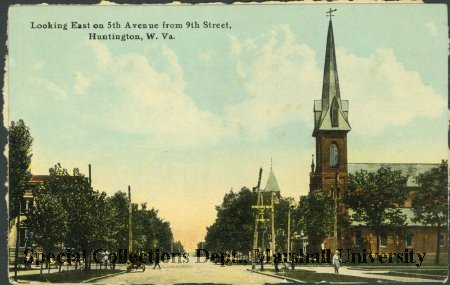 View of the First Congregational Church, circa 1910