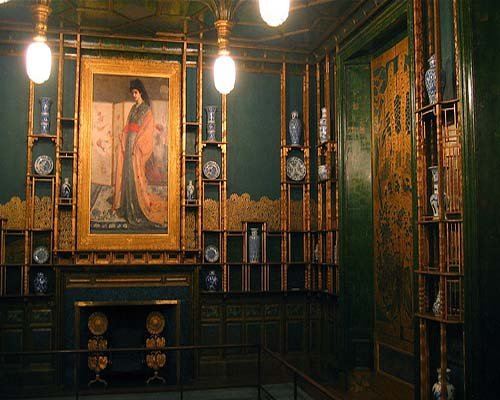 Whistler's Peacock Room (image from See Local Art)