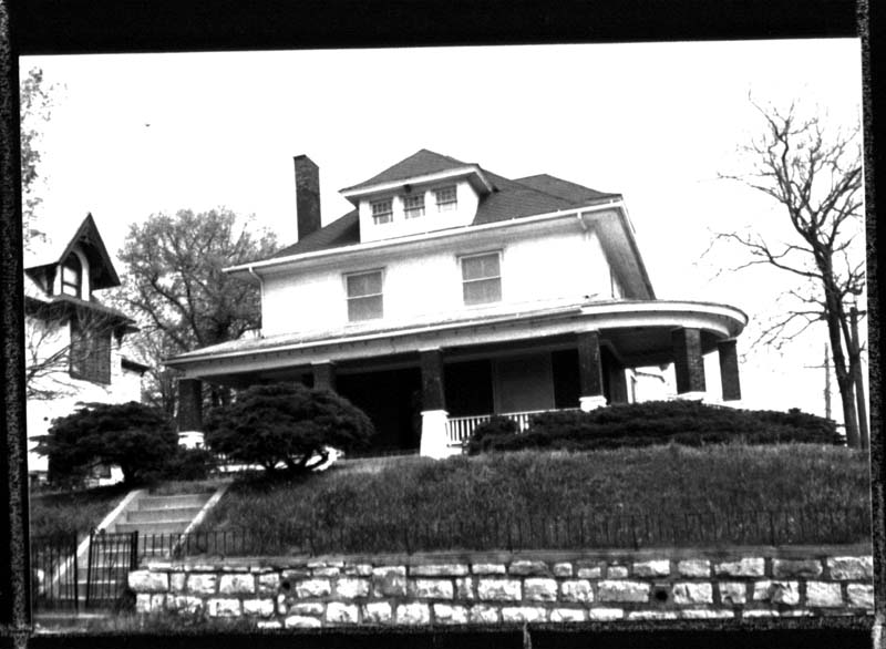 Photo of the home taken in 1987, around the time of Judge Meeks' death