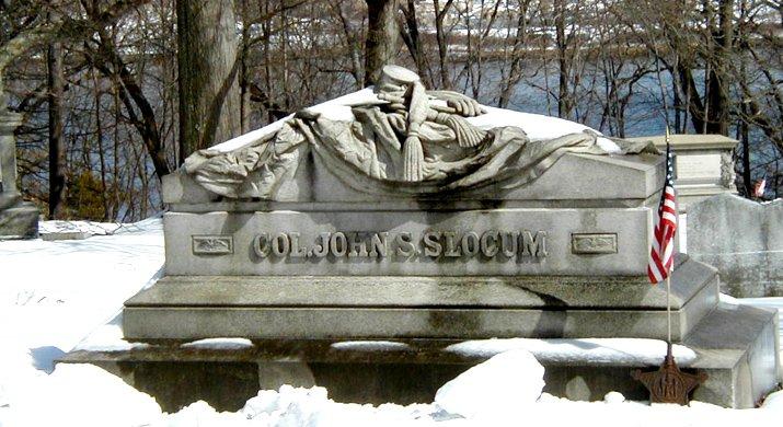 Colonel John Slocum of the 1st Rhode Island Infantry, commanding officer of Major Sullivan Ballou, killed alongside him at 1st Bull Run.