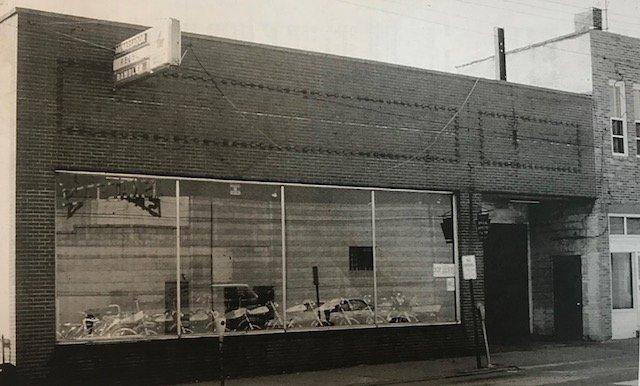 Theron Smith's Mercury dealership  339 Depot Street 1952-1975