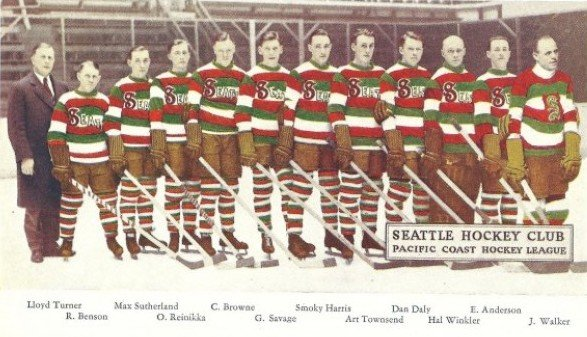 The Seattle Metropolitans Hockey Team - Pacific Coast Hockey League