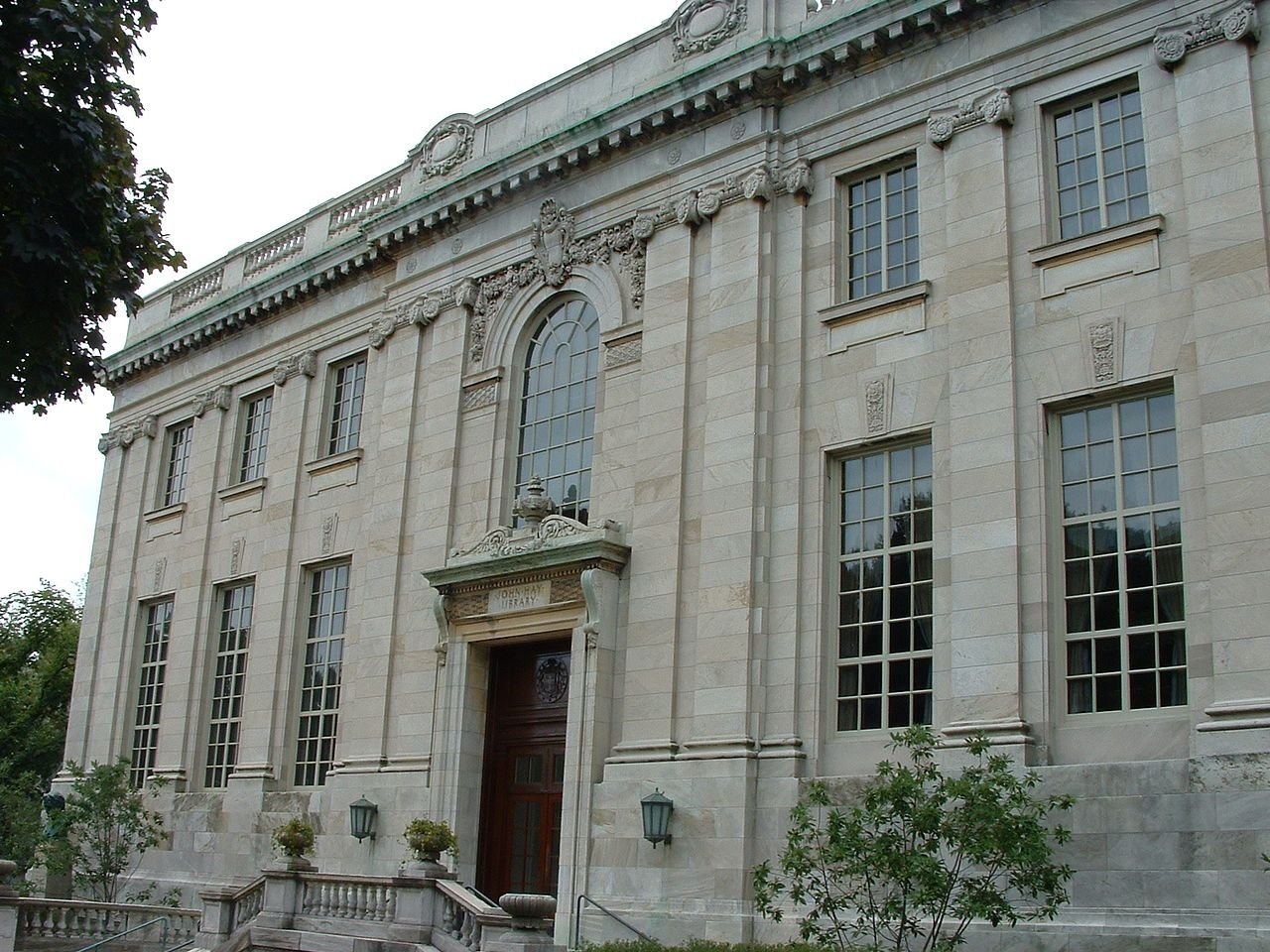 The John Hay library, built in 1910.