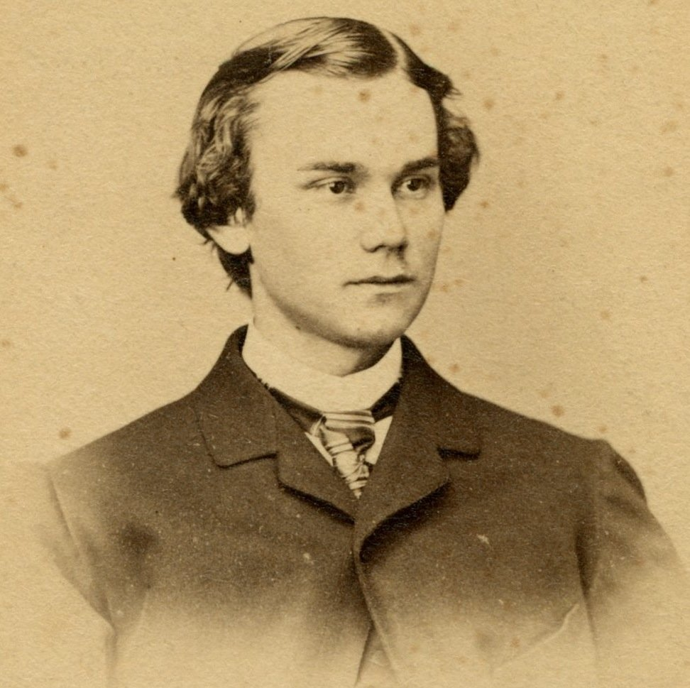 A young John Hay, while still employed as Lincoln's assistant.