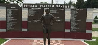 Statue of Coach Herb Conley