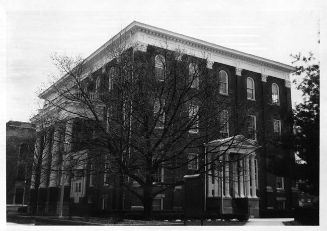 University Building, EKU, 1986. Madison County Historical Society.