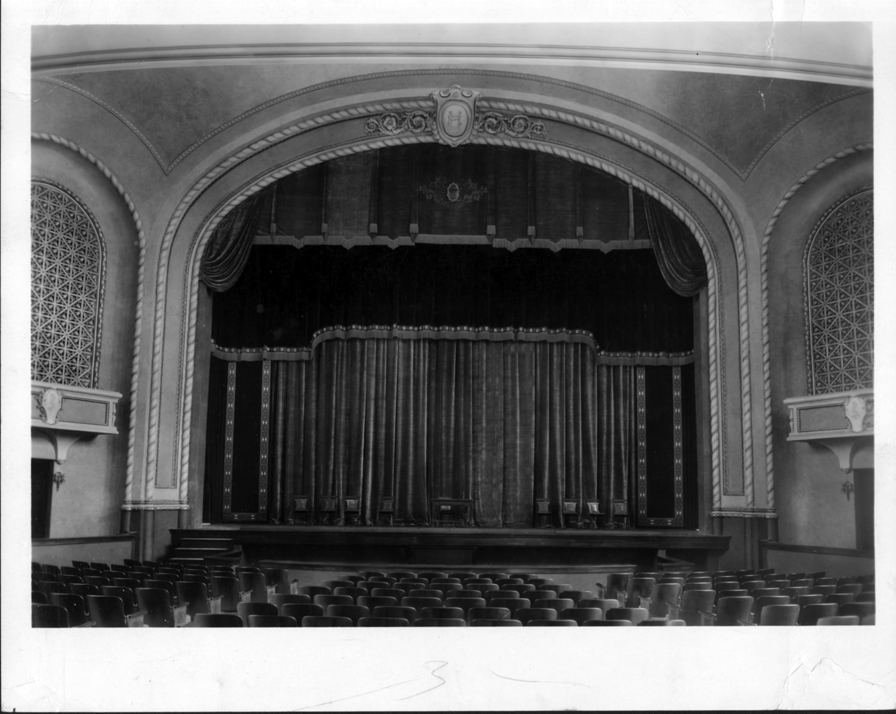 Brock Auditorium, ca. 1938. EKU Photograph Collection.