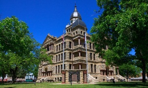 Erected in 1895, the former Denton County Courthouse is now the Courthouse-on-the-Square Museum.