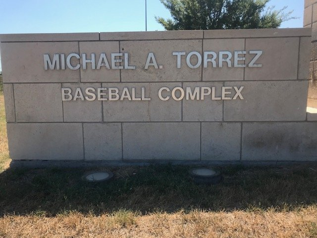 Michael A. Torrez Baseball Complex entrance