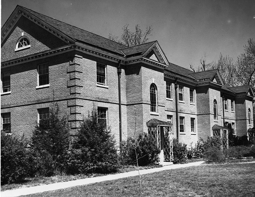 The front of McCreary Hall. EKU Photo Collection.