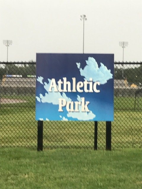Athletic Park Sign