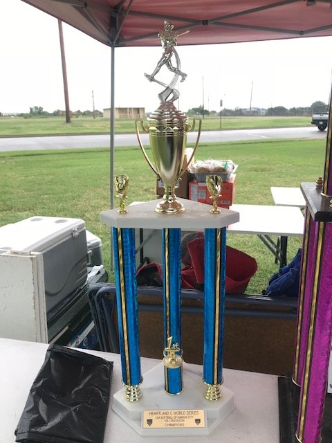 Mexican Fast Pitch Softball Tournament trophy