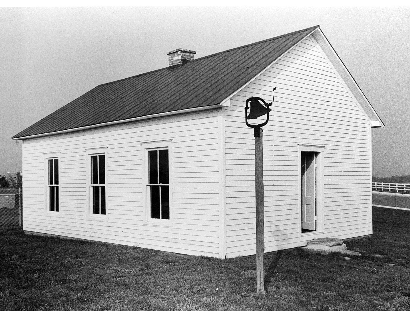 Granny Richardson Springs Schoolhouse, 1960s.  EKU Photo Collection.