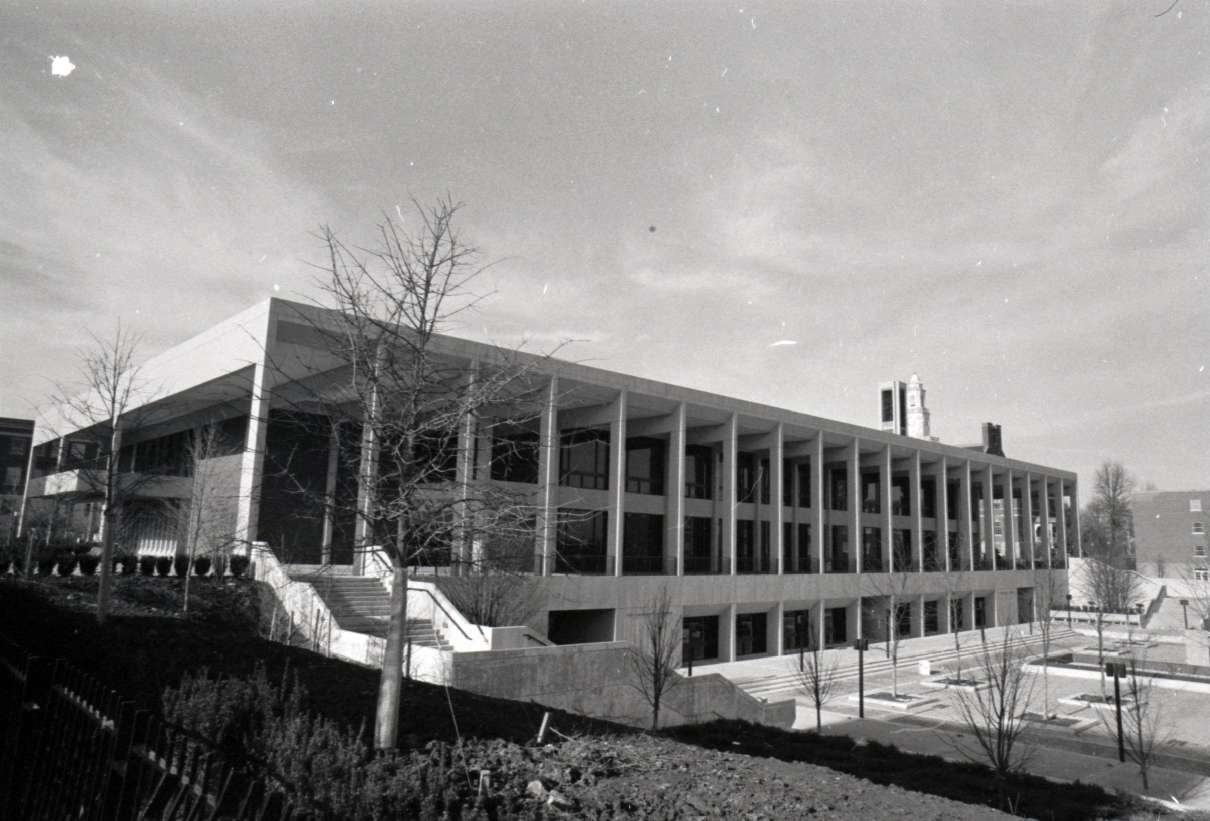 The Powell Building, 1972. EKU Negative Collection