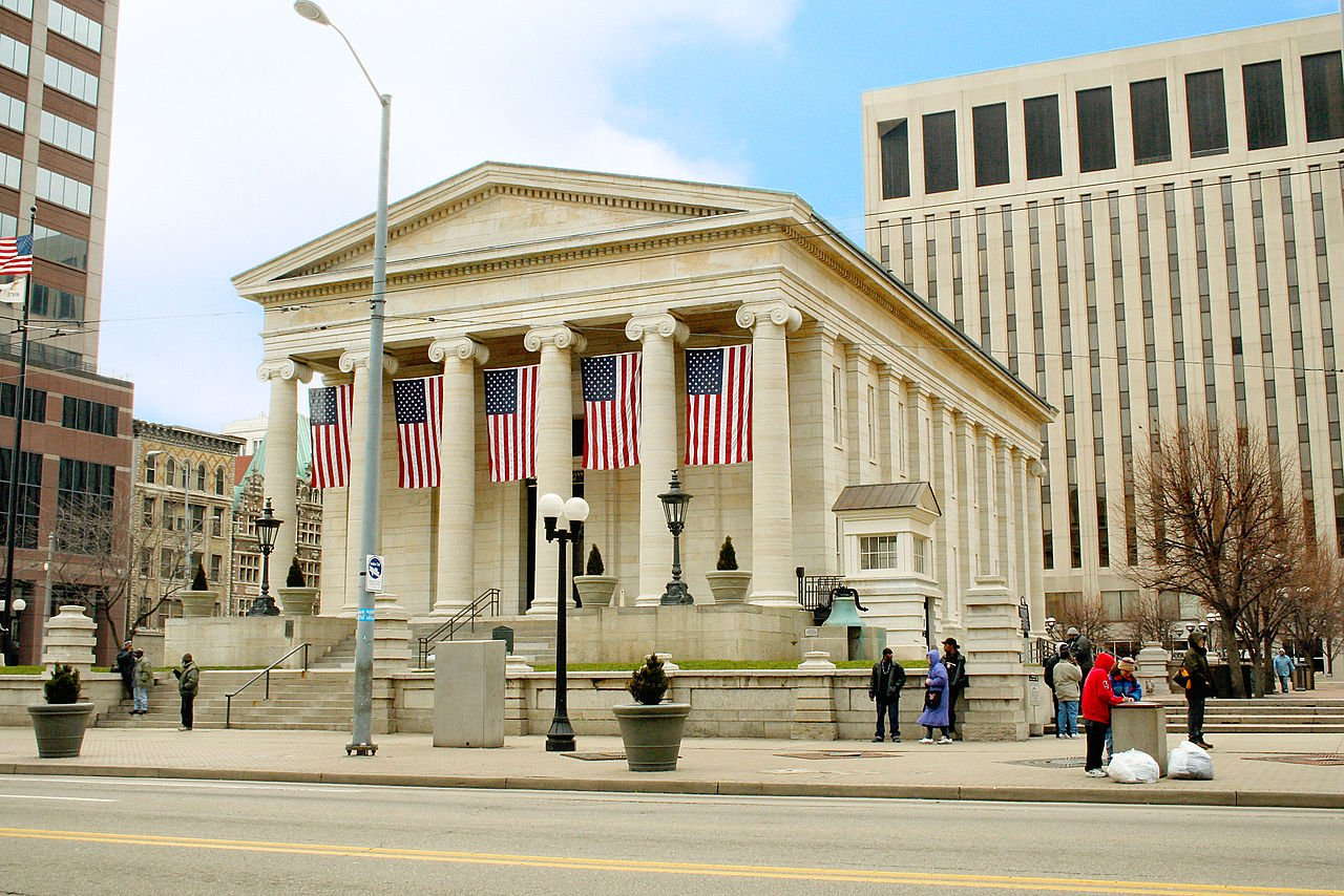 The Old Courthouse was built in 1850 and is listed on the National Register of Historic Places. Photo: Wikimedia Commons