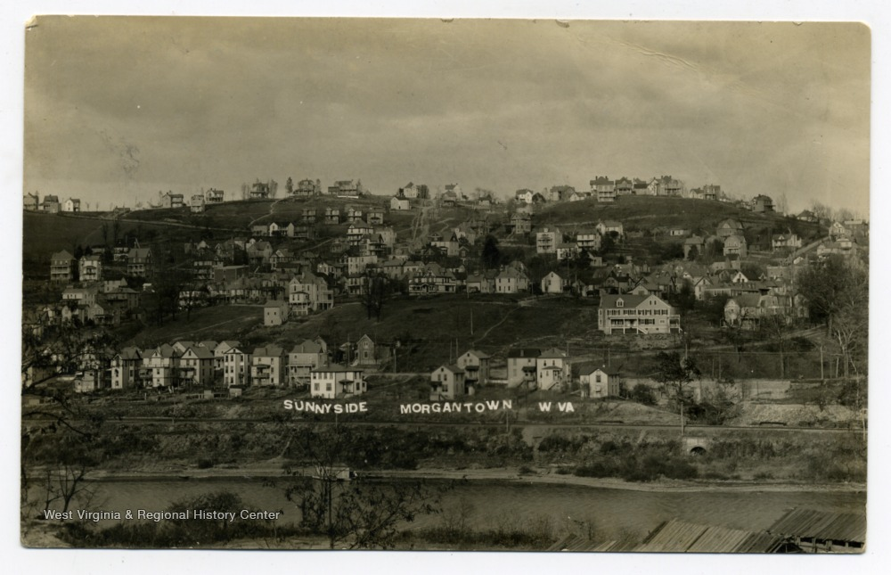 Sunnyside as seen from Westover, ca. 1905-1925